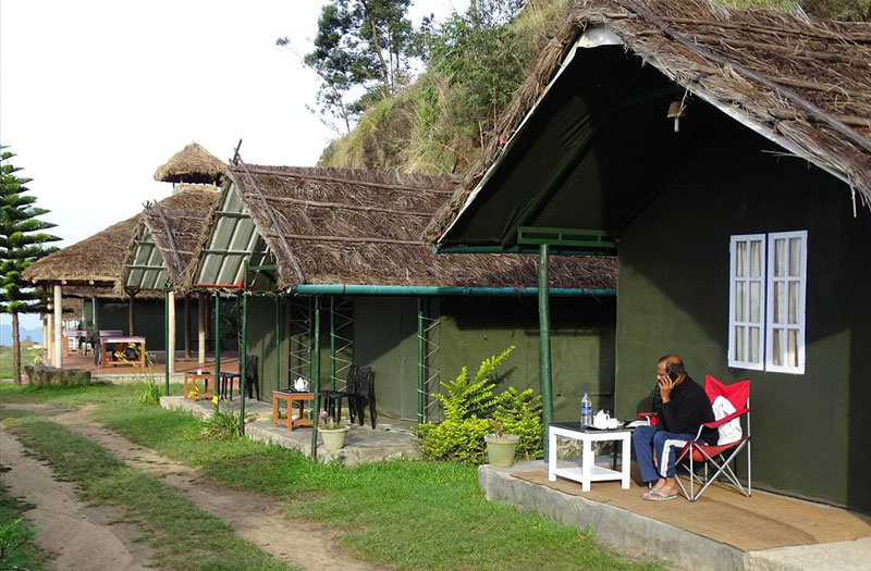 The Anaerangal Camp at Munnar