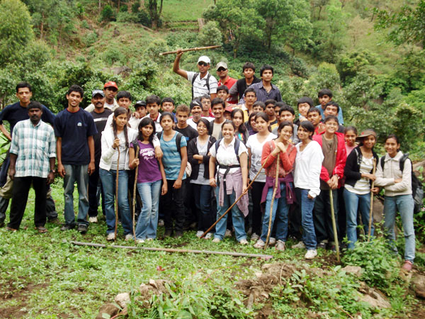 Children's outdoor  camp at Munnar